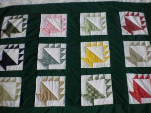 Patchwork Basket Quilt