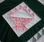 Pastel n' green quilt