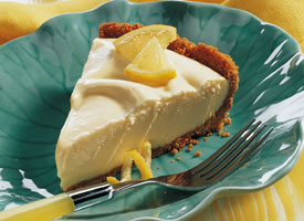 Icecream lemonade pie